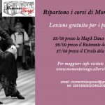 Riaprono i corsi di tango a Vicenza e a Verona